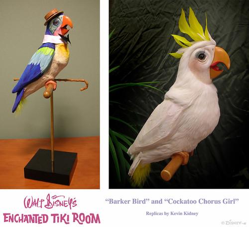 Disneyland Tiki Room Barker Bird Amp Cockatoo Replicas Flickr