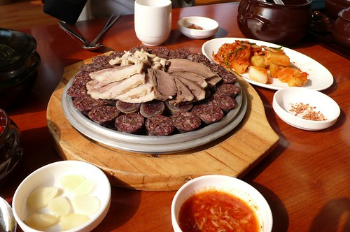 how to say sausage in korean