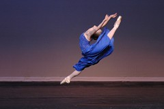 "Ballet Dancer & Ballet Jumps: Grande Jeté ""Ballerina in Flight"" - Dance Portraits in Columbus, Ohio 