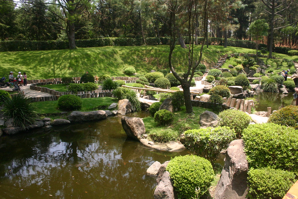 Jard n japon s parque colomos guadalajara jalisco m xi for Jardin japones