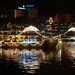 Vesak Celebrations: Boat on River