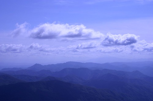 A view from the Mt.Chokai | by Mihoko Ozaki