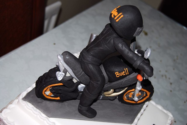 Cake The Best Bike Birthday Cake Ever Buell Lightning