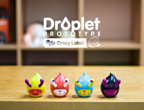Droplet Vinyl Toy Prototype | by JamFactory