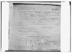 Taft Marriage License, Ohio  (LOC) | by The Library of Congress