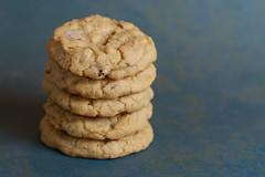 Sweet and Salty Peanut Chocolate Chunk Cookies
