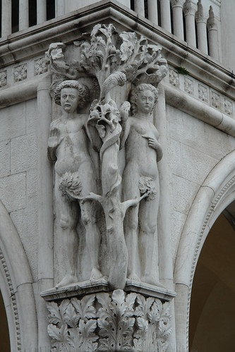 Adam and Eve with highly trained fig leaves | by GOC53