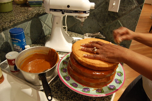 Layer Caramel Cake Recipe
