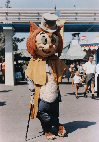 Gideon at Disneyland, 1960s | by Miehana