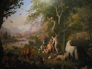 Vatican Tour: Adam and Eve in the Garden of Eden | by jlinczak