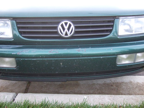 Front bumper scratches | by Richard Berg