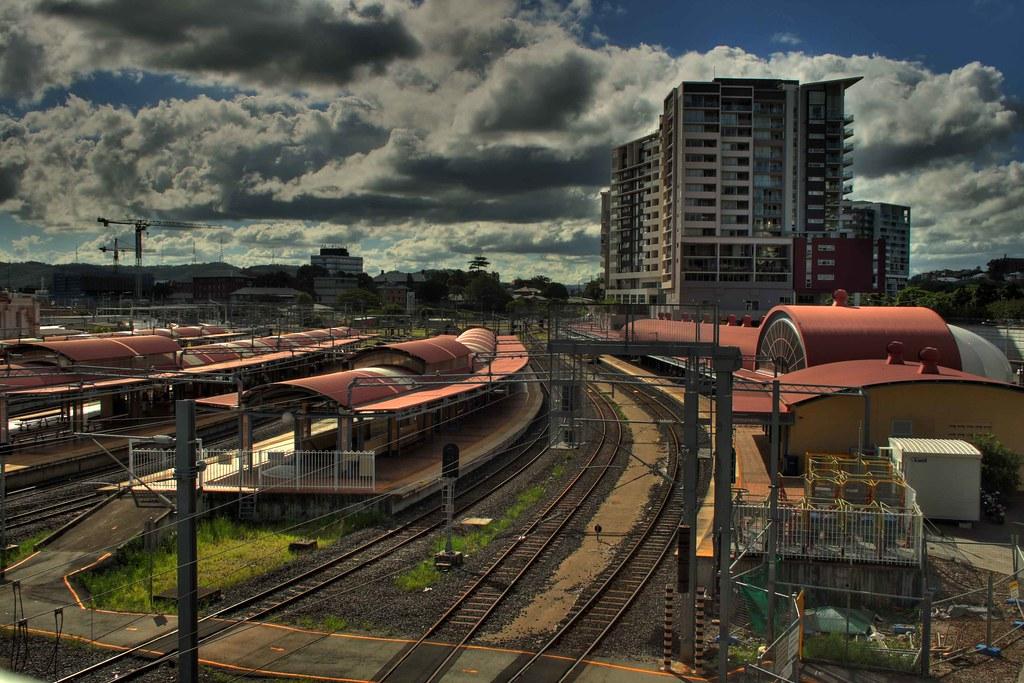 Like Most Cities Brisbane Had A Railway Goods Yard Where
