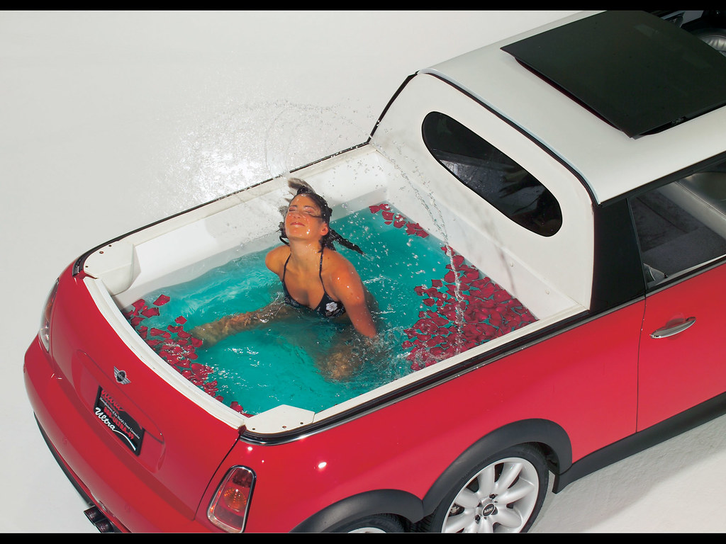 Jacuzzi TUB! | MINI is taking the craze for personalization … | Flickr