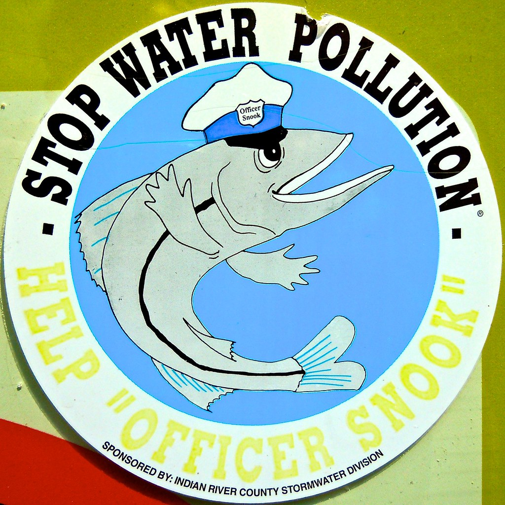 "Stop Water Pollution | Help ""Officer Snook"" 