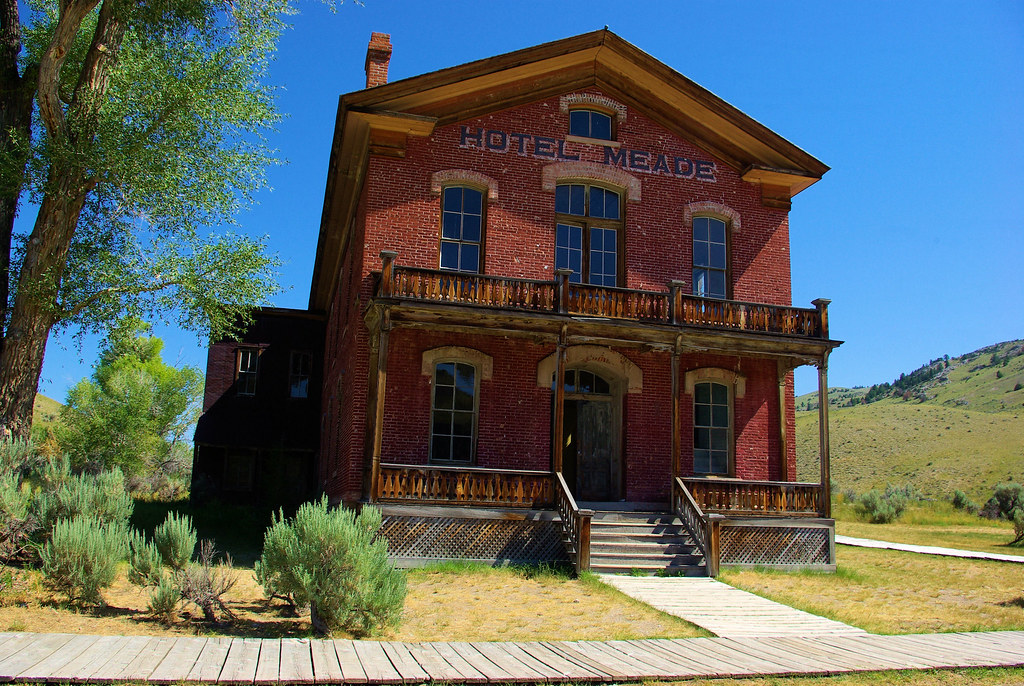 Photo Favorite: Hotel Meade, Bannack State Park, Montana historical ghost town, July 30, 2010 (Pentax K10D)
