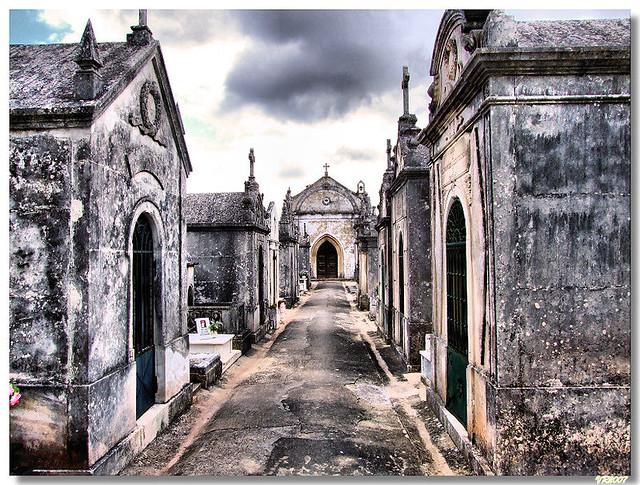 Porto_mos_cemiterio | PORTO DE MÓS (Portugal): Cemitério. Se… | Flickr