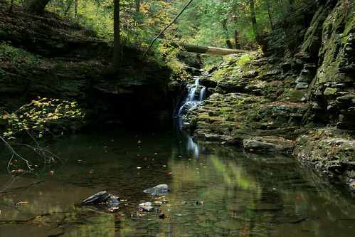 falling water creek cascade picket gulf walden ridge hamilton co tn 2 | by Alan Cressler