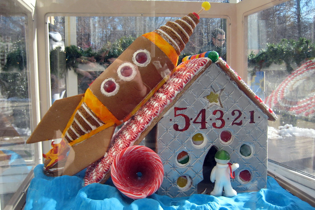 Nyc Bronx New York Botanical Garden Gingerbread Adven