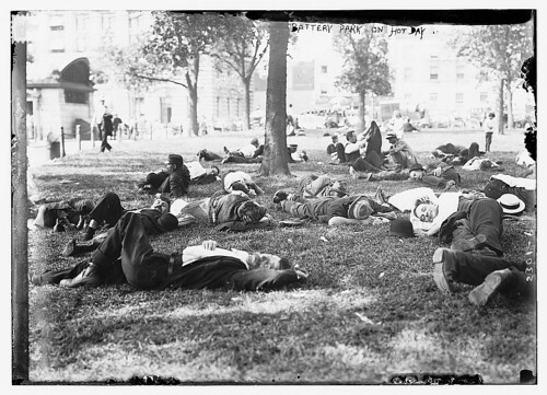 Battery Park on hot day  (LOC) | by The Library of Congress
