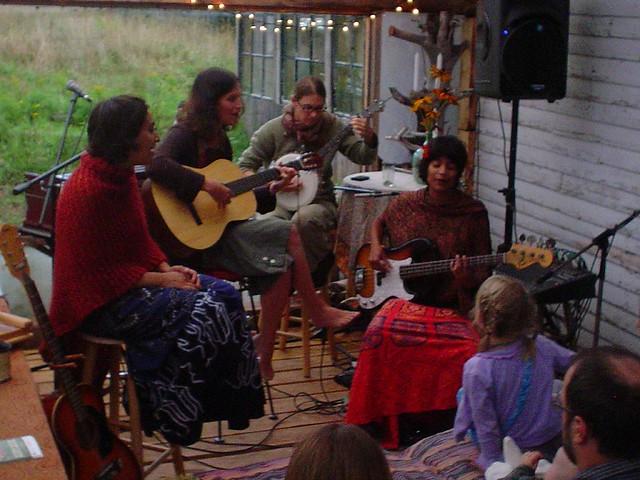 haybale concert/campout | Cowgirls n' Indians | saraandaaron | Flickr