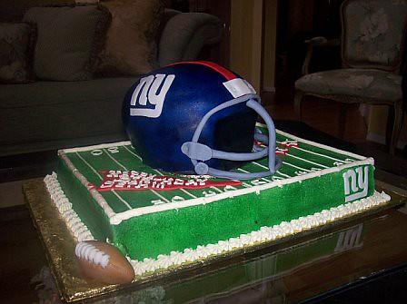 Helmet Birthday Cake