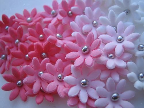 Pink sugar flowers vanessa anne flickr pink sugar flowers by vanessa anne mightylinksfo