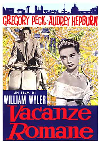 Movie Poster create a movie poster free : Roman Holiday - Italian Movie Poster : firstposter dotcom ...