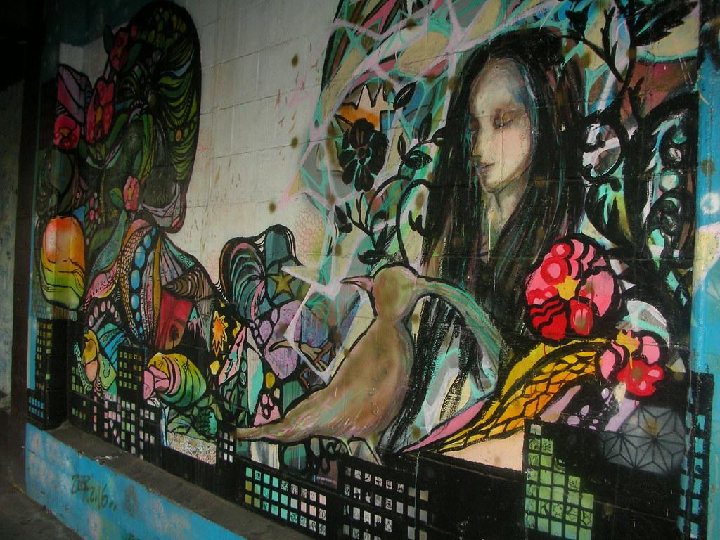 Yokohama graffiti wall - Yokohama Graffiti Wall 5