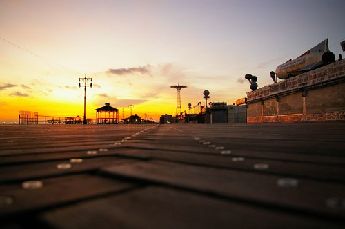 Coney Island Sunset | by Architectural Orphans