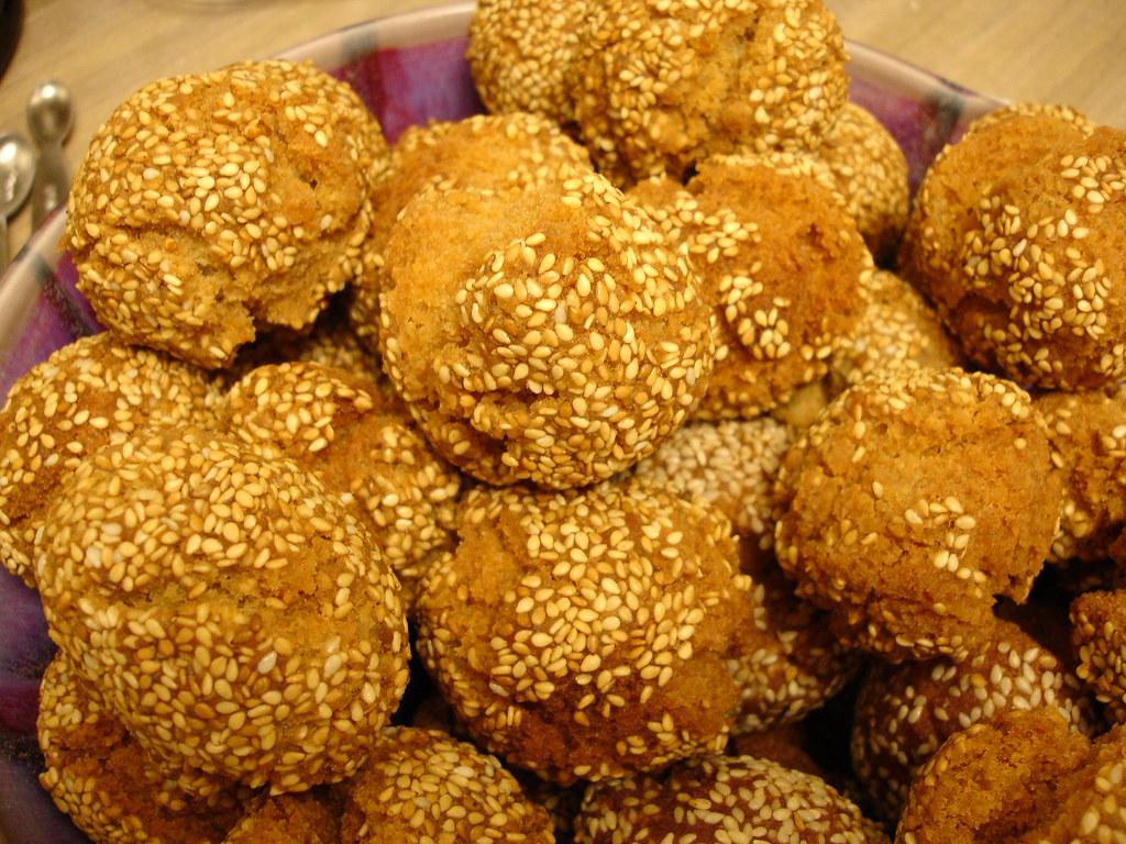 Binangkal Binangkal For Meryenda Sesame Seeds Hard