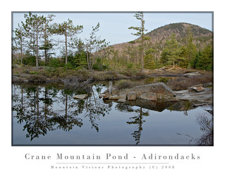 Reflecting On Crane Mountain Pond | by Mountain Visions