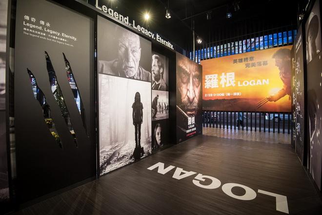 《羅根》電影攝影特展分為電影四大主題,讓影迷提前一窺電影神秘面貌。