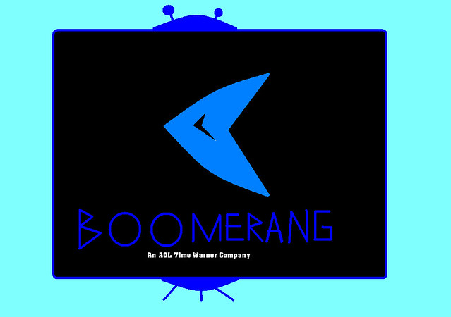 Boomerang Logo On Tv By Guy Margaret Toigo Flickr