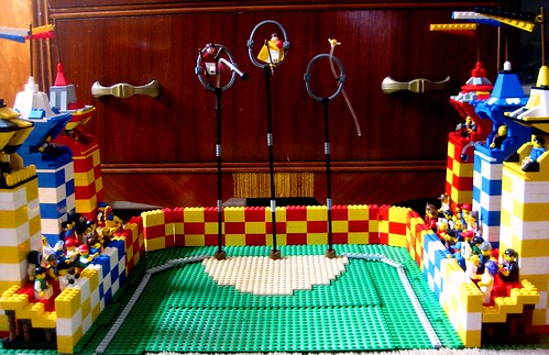 Lego Quidditch Pitch My Entry For The Lego Harry Potter