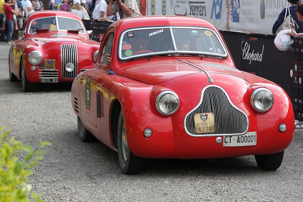 FIAT 508 CS MM 1938 Mille Miglia 2011 Roberto