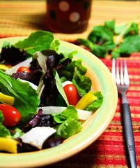 simple salad : home | by aiyah