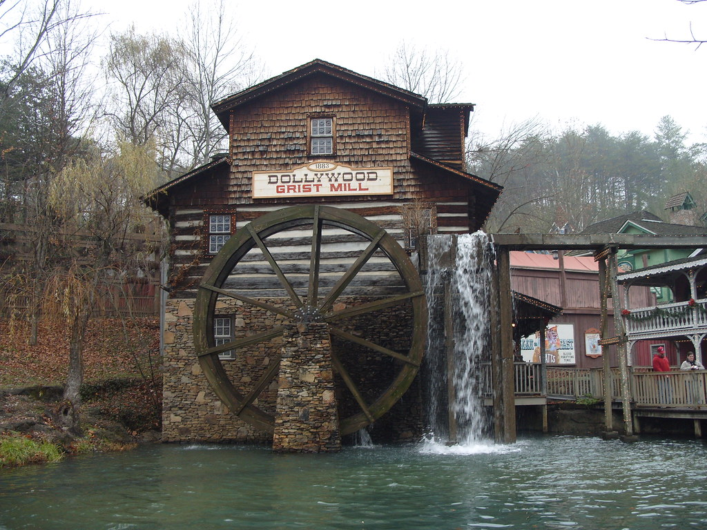 2007 Dollywood Grist Mill Pigeon Forge Tn Built In