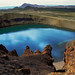 Lago en un volcan