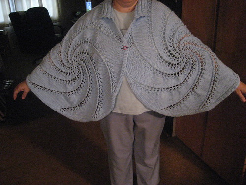 Moth wings-Medallion Capelet | by DianaH1