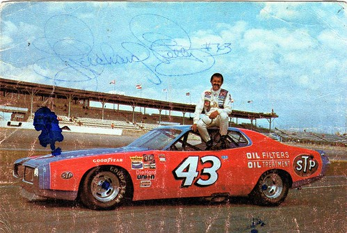 Richard Petty 1973 Dodge Charger Stp Quot Gimme Card Quot Flickr