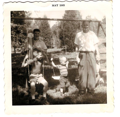 craft boys and grandfather Nathan Britt | by Valerie's Genealogy Photos