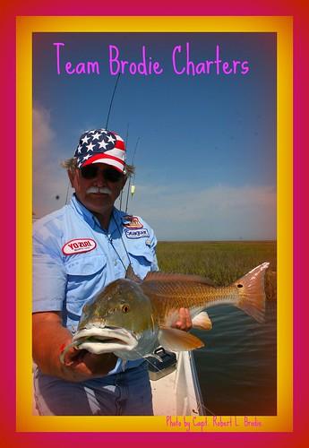 Biloxi ms fishing rob langlanais caught this big redfis for Fishing in biloxi ms