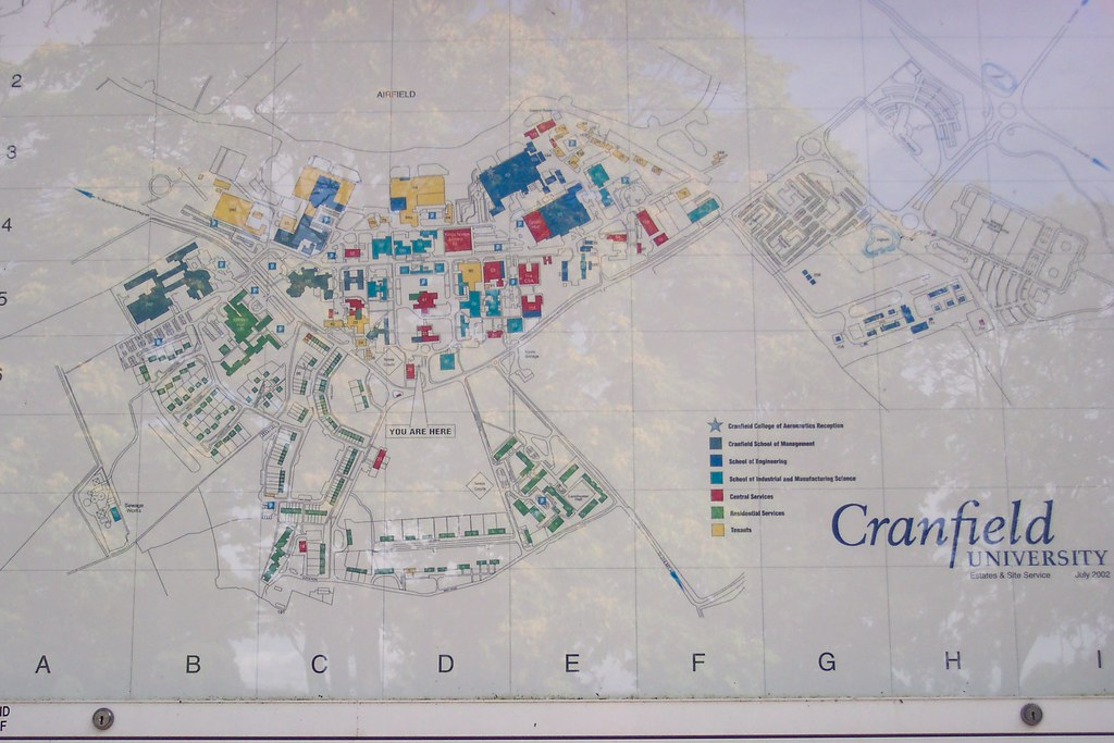 Cranfield University Map Dulceneia Becker Flickr