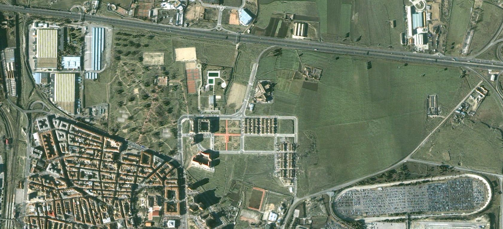 villaverde, madrid, greenville, antes, urbanismo, planeamiento, urbano, desastre, urbanístico, construcción