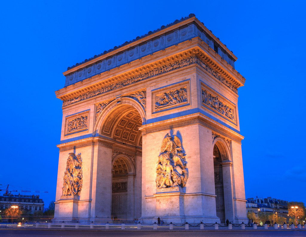 arc de triomphe paris in 1000 megapixels zoom in flickr. Black Bedroom Furniture Sets. Home Design Ideas