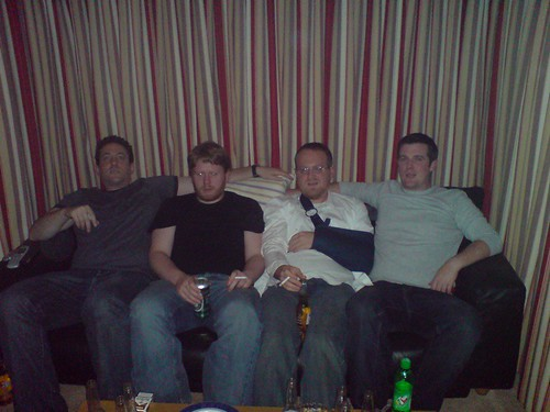 James, Garret, Comedy Dave and Eamo | by they call me garret