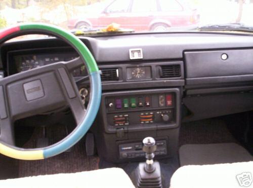 Volvo 240 Diesel Steering Wheel 1979 France Hinterland 1