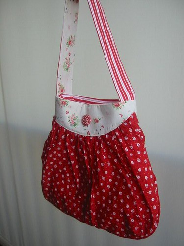 Bag made from a dress | by WheresBeckybean