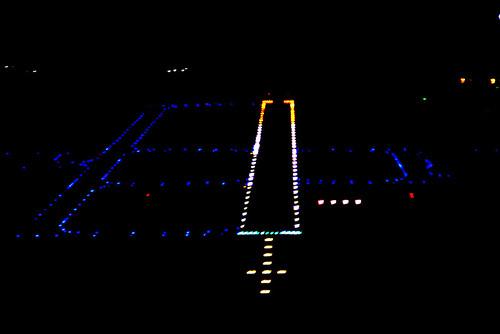 kcoe runway lights