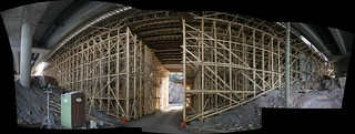 panorama of scaffolding | by 1541
